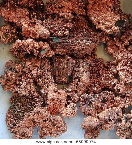 Natural Copper Minerals