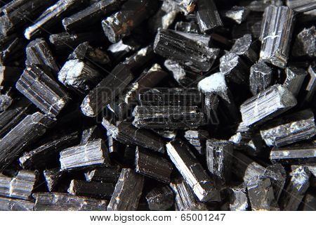 Schorl Mineral Background
