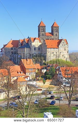 Castle Hill Quedlinburg Germany