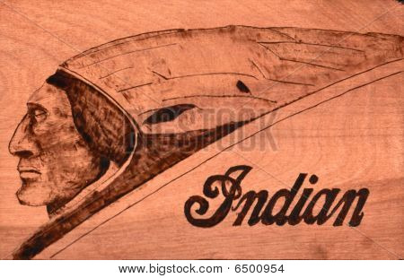 Indian Woodburning