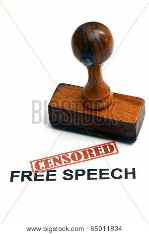 Free Speech Censored