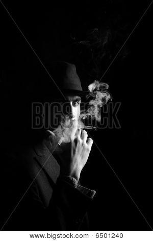 A Man In A Grey Hat