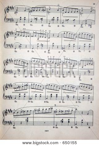 Notas de la música 2