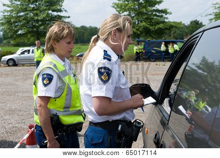 Checking Car Papers