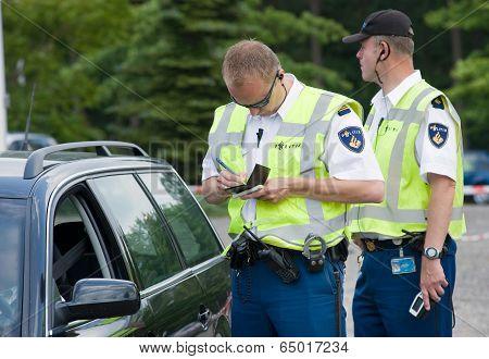 Ticket For Speeding