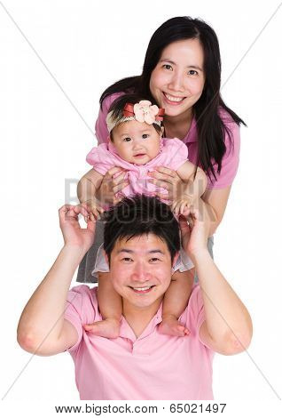 Happy family line up
