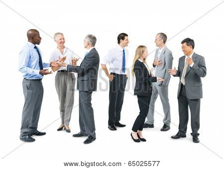 Group of Business People Talking