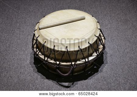 Korean Traditional Drum Which Is Called 'buk'