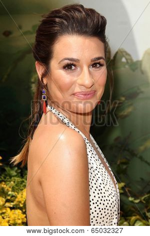 LOS ANGELES - MAY 3:  Lea Michele at the