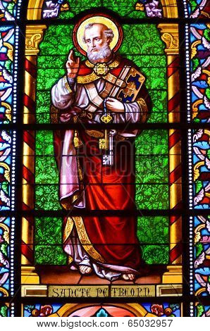 : Stained glass window