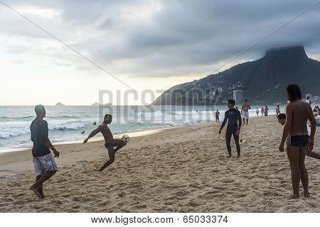 Ipanema Beach Football