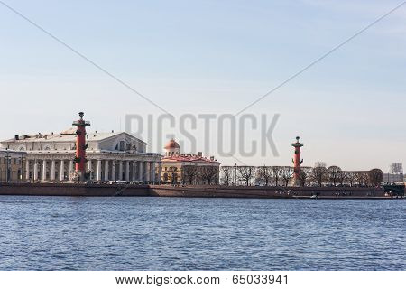 View On Vasilevsky Island