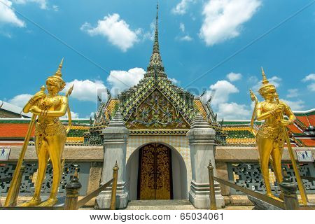 Wat Phra Kaew. Grand Palace, Bangkok, Thailand