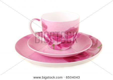 Pires e copo-de-rosa