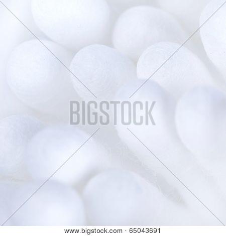 Cotton Buds Closeup