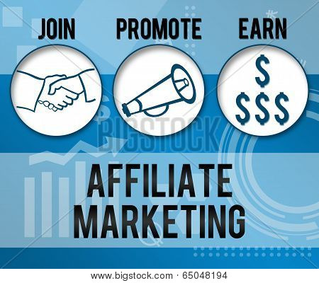 Affiliate Marketing Business Theme Background