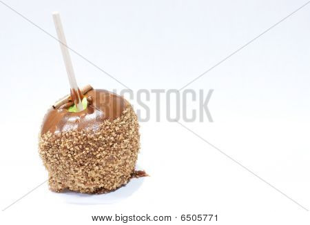 Sugar-Coated Candy Apple