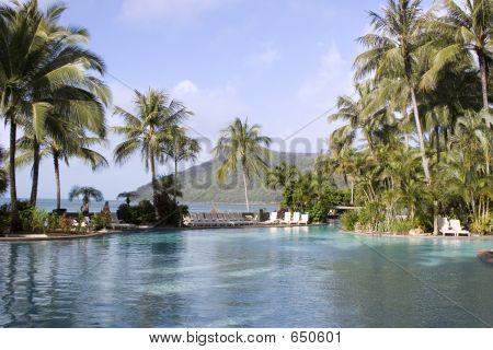 An Infinity Pool Overlooking The Ocean