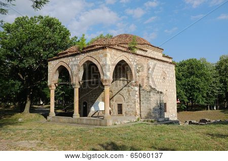 Bali-Bey Mosque in the Nis Fortress, Serbia