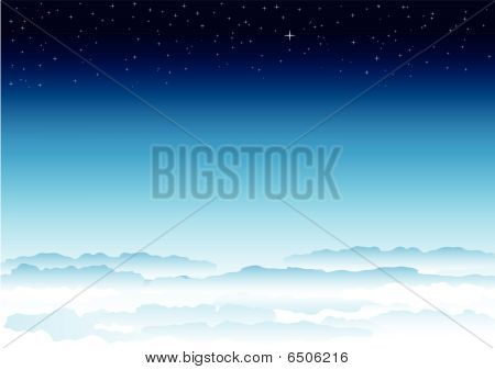 Sky and space