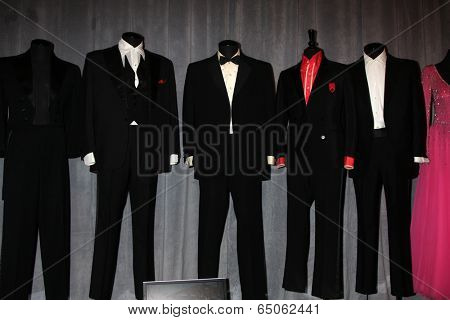 LOS ANGELES - MAY 14: Rat Pack Suits l-r: Lawford, Martin, Sinatra, Davis Jr, Bishop at the