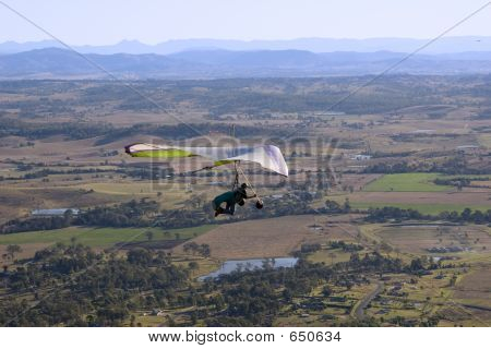 Hang Glider 3 In Queensland Australia