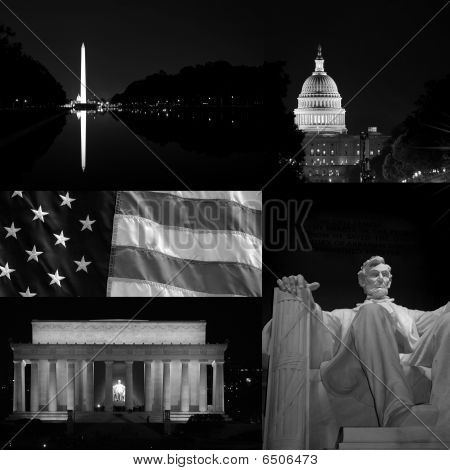 Washington Dc Collage