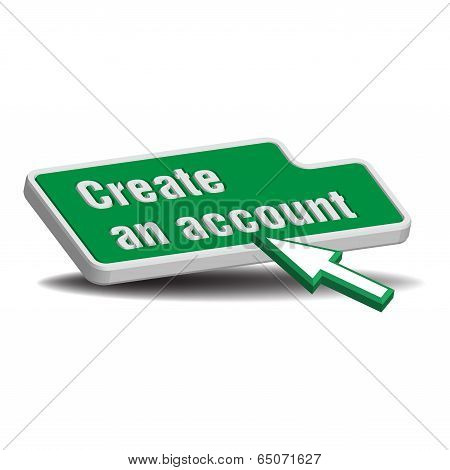 Create an account green button