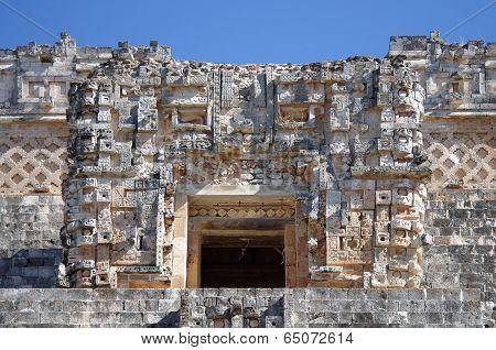 Pyramid At Uxmal