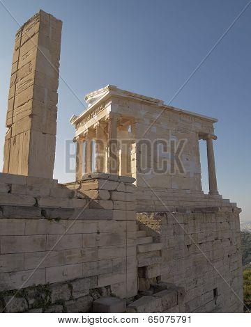 Athena Niki ionian order temple, Arthens Greece