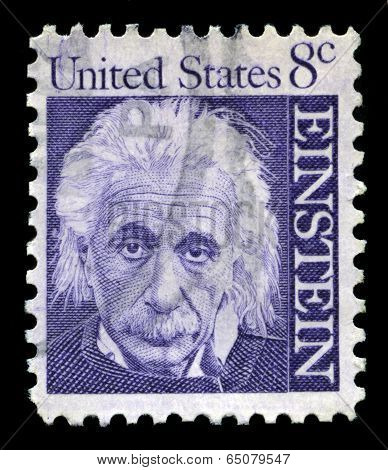 Albert Einstein Us Postage Stamp