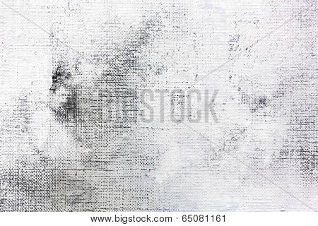 Abstract Painted Background With Grunge Texture