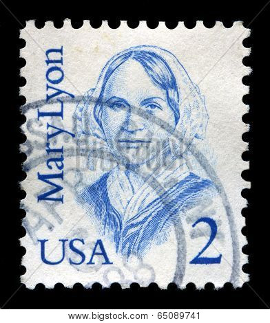 Mary Lyon Us Postage Stamp