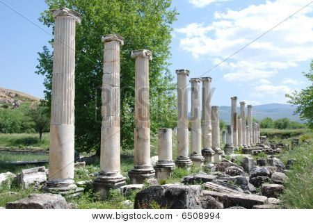 Ancient temple of Diana in Aphrodisias