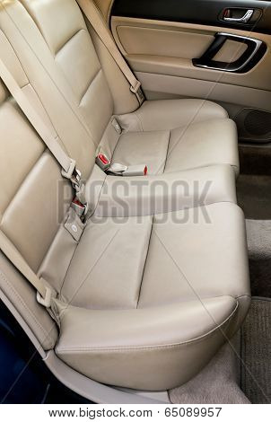 Leather Back Car Seats