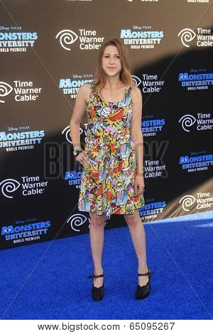 LOS ANGELES - JUN 17:  Eden Sher at the