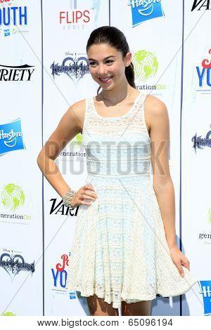 LOS ANGELES - JUL 27:  Kira Kosarin at the Variety's Power of Youth  at Universal Studios Backlot on July 27, 2013 in Los Angeles, CA