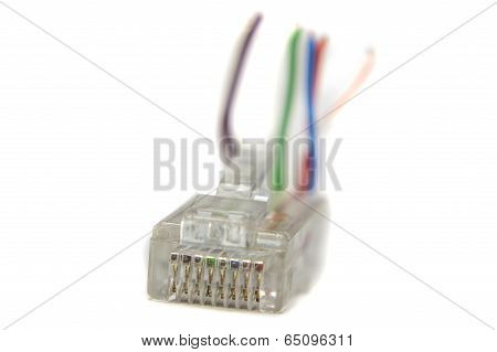 Ethernet Rj45 Conector