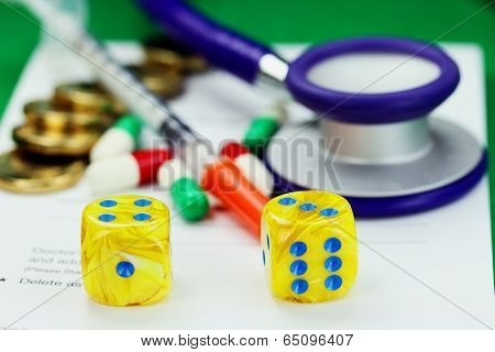 Medical Dice Role