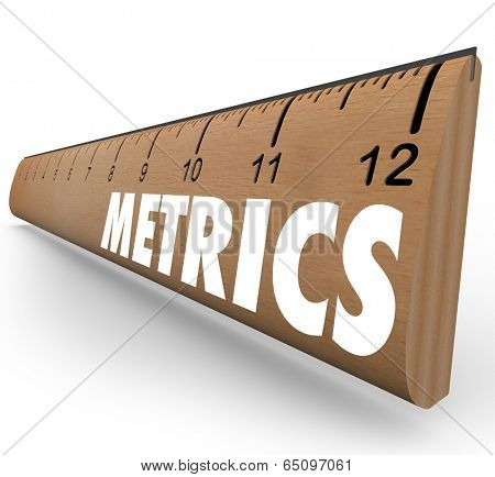 Metrics word wooden ruler  measurements, methodology and benchmarking