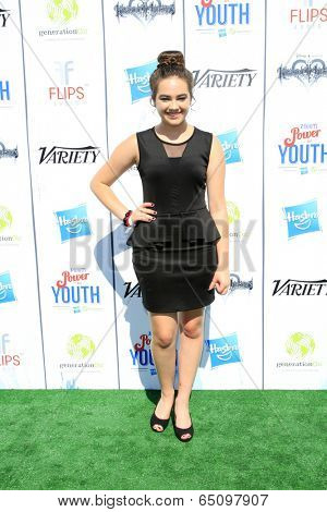 LOS ANGELES - JUL 27:  Mary Mouser at the Variety's Power of Youth  at Universal Studios Backlot on July 27, 2013 in Los Angeles, CA