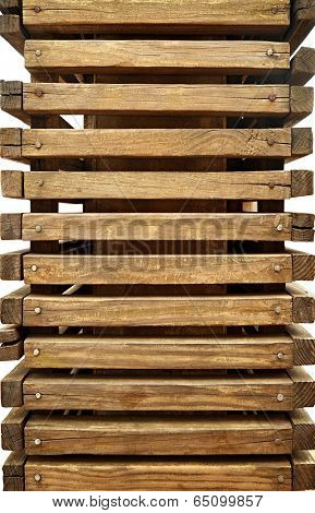 stackable wood