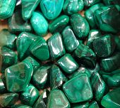 pic of malachite  - green malachite mineral texture as nice background - JPG