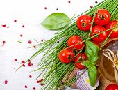 image of chive  - Cherry Tomatoes - JPG