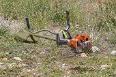 picture of grass-cutter  - brush cutter - JPG