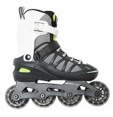 image of inline skating  - Inline skate isolated on white background - JPG