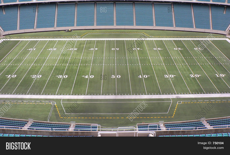 Football Field Image & Photo