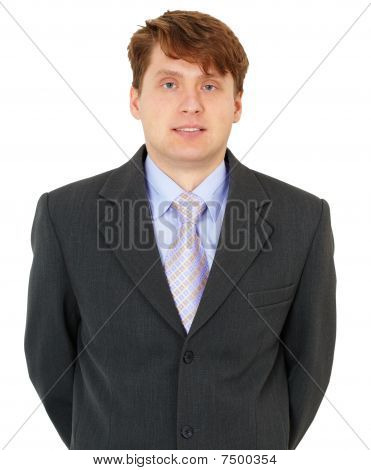 Handsome Young Man In Jacket