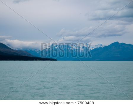 Mount Cook Over A Blue Lake