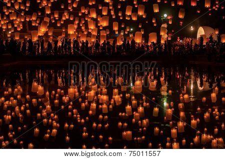 Firework Festival In Chiang Mai